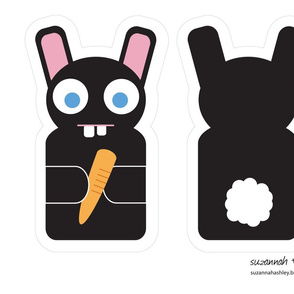 Bunny Puppet - suzannah ashley