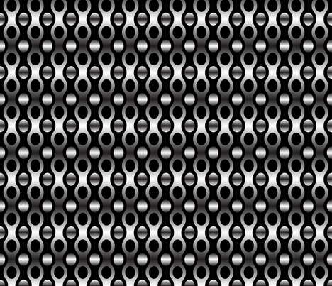 Chainlink Metal fabric by pixeldust on Spoonflower - custom fabric