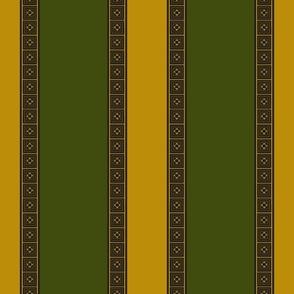 Green Gold Stripe