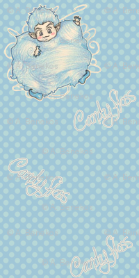 Candy Floss - Blue