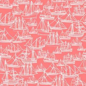 Sailing ships - Coral
