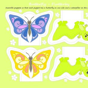 butterfly-flutterby puppets