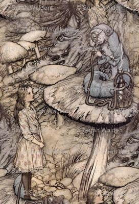 Alice & The Caterpillar ~ small