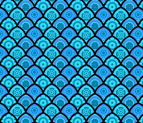 Gears II fabric by jadegordon on Spoonflower - custom fabric