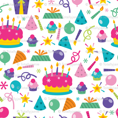 Let's Party Pattern