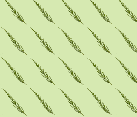 Club Fern fabric by siya on Spoonflower - custom fabric