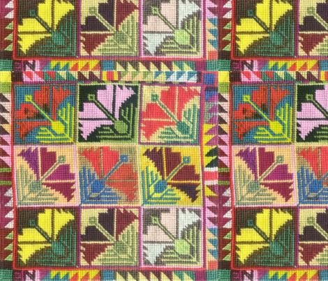 9nelken fabric by eva_the_hun on Spoonflower - custom fabric