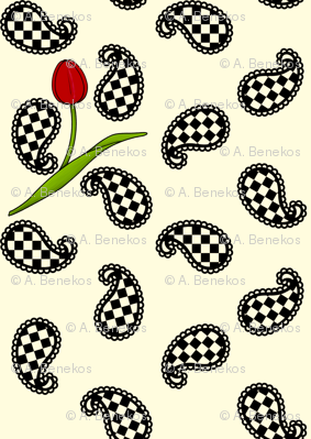 Paisleys and Tulips