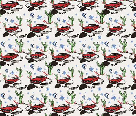 FiftiesDesert fabric by upcyclepatch on Spoonflower - custom fabric