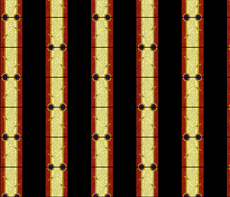 Stained Glass Stripes fabric by siya on Spoonflower - custom fabric