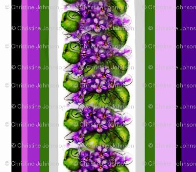 Violets and Stripes