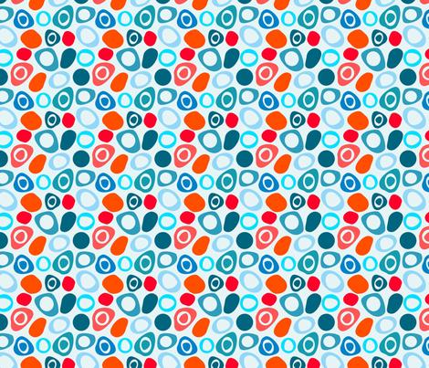 Mod Pebbles fabric by carinaenvoldsenharris on Spoonflower - custom fabric