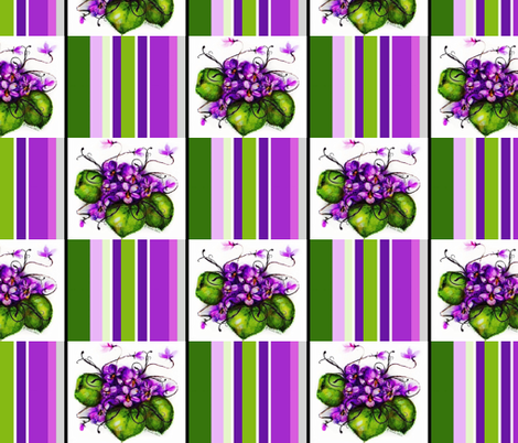 Violet / Check Lg fabric by paragonstudios on Spoonflower - custom fabric