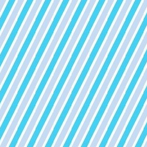 Folk Garden - Aquaberry Diagonal Stripes - © PinkSodaPop 4ComputerHeaven.com