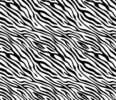 Basic Zebra fabric by andreamwolf on Spoonflower - custom fabric