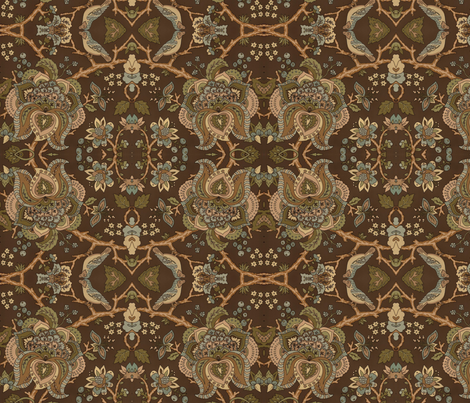 MirroredTapestry fabric by patters on Spoonflower - custom fabric
