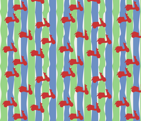 50s_fabric_-_lambreta_2 fabric by alive on Spoonflower - custom fabric