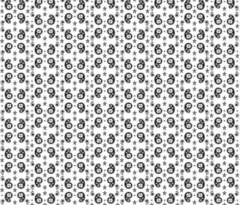 atomic skull paisley fabric by tpenndragon on Spoonflower - custom fabric