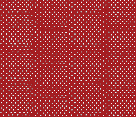 Red Polka Dot Madness fabric by bella_modiste on Spoonflower - custom fabric