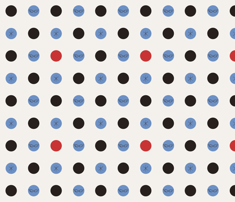 fun-dots fabric by kelly_ballantyne on Spoonflower - custom fabric