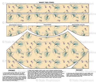 Lobster Tale - a cut-and-sew ripple apron pattern