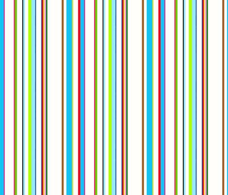 RoBoTomic TiKi / Bright fabric by paragonstudios on Spoonflower - custom fabric