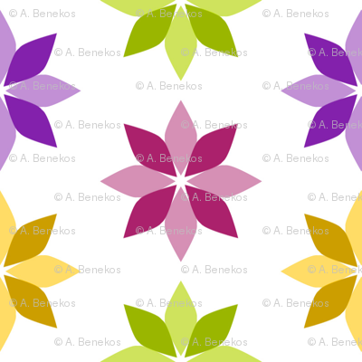 Flowers - Four Colors