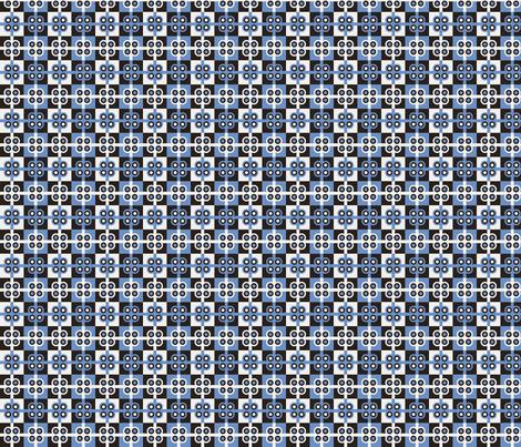 Blueberry Plaid fabric by pixeldust on Spoonflower - custom fabric