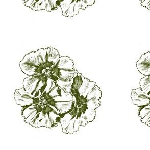 flowerprint-green