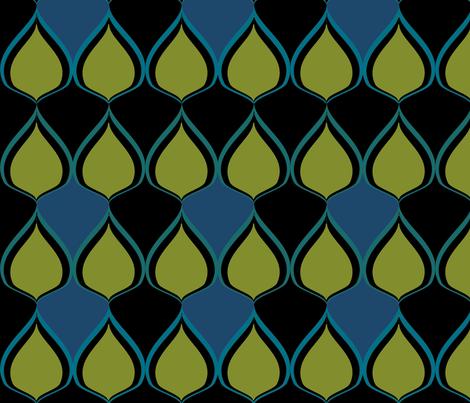 Summer Rain fabric by sbd on Spoonflower - custom fabric