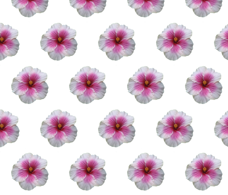 Tikiflower fabric by chezsuz on Spoonflower - custom fabric