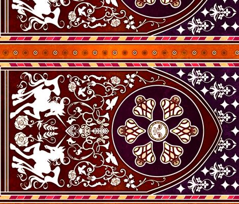 Medieval fabric by jadegordon on Spoonflower - custom fabric
