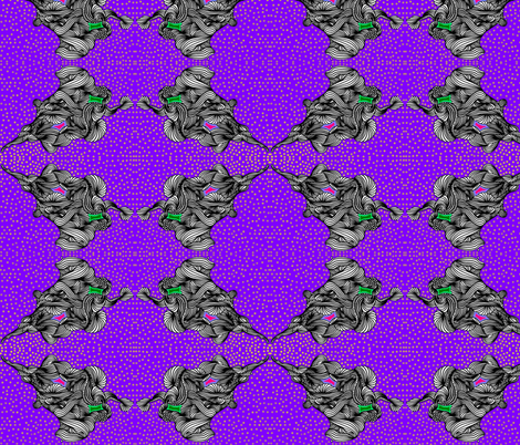 JamJax Continental purple fabric by jamjax on Spoonflower - custom fabric