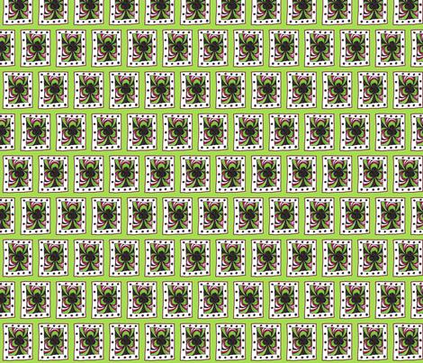 Club Scribble Green fabric by siya on Spoonflower - custom fabric