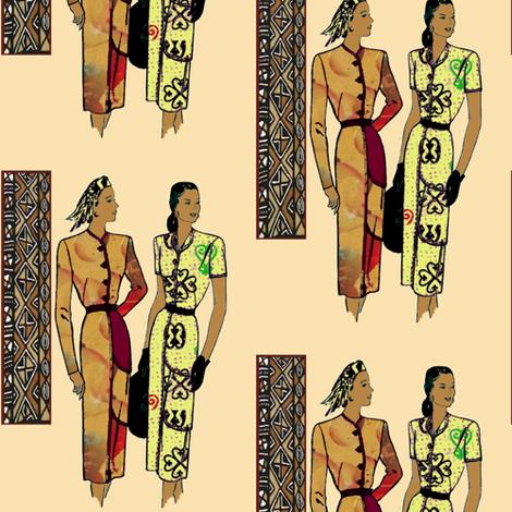 Stylin' fabric by nalo_hopkinson on Spoonflower - custom fabric