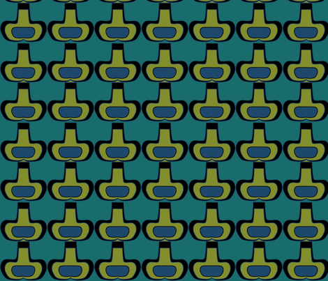 Vases fabric by sbd on Spoonflower - custom fabric