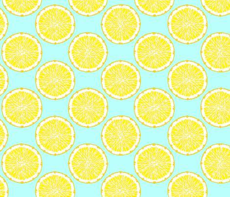 Citrus 2 fabric by jadegordon on Spoonflower - custom fabric