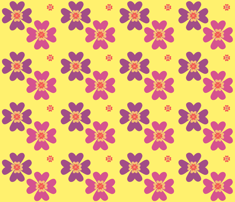 bright_flowers fabric by snork on Spoonflower - custom fabric