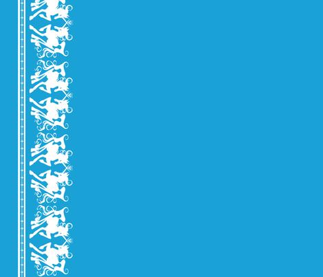 Unicorn Border 1 fabric by jadegordon on Spoonflower - custom fabric