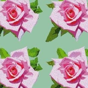 Vintage Rose Green
