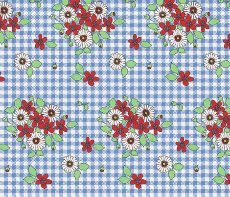 R50s_flowers_on_blue_gingham_shop_preview