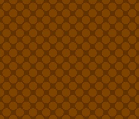 Mocha Polk fabric by mayabella on Spoonflower - custom fabric
