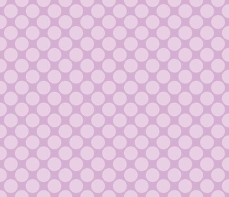 Circus Polk- Lavender fabric by mayabella on Spoonflower - custom fabric