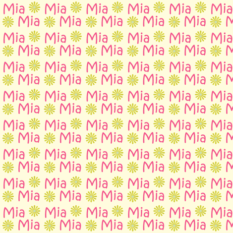 Mia fabric by cksstudio80 on Spoonflower - custom fabric