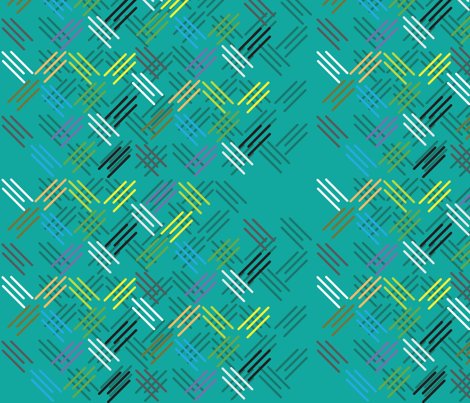 tripledust fabric by dolphinandcondor on Spoonflower - custom fabric