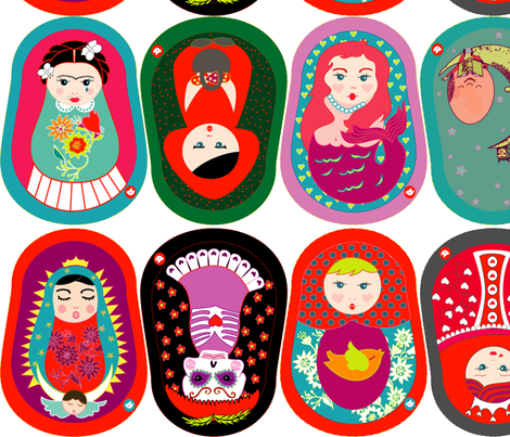 GURUSHKAS fabric by gurumania on Spoonflower - custom fabric