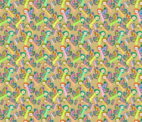 butterfly friends fabric by heidikenney on Spoonflower - custom fabric