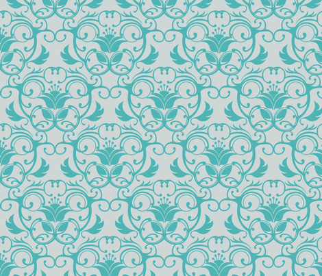 Lotus fabric by daynagedney on Spoonflower - custom fabric