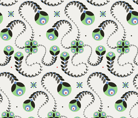 50s fabric by vina on Spoonflower - custom fabric