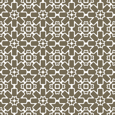 Spice Berry Star fabric by kristopherk on Spoonflower - custom fabric